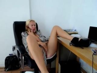 svetlanafeckarova camgirl sticks dildo up her pussy