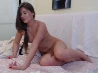 adriana_ferrari naked camgirl eats a watermelon